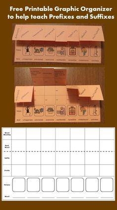Free Printable Foldable Organizer