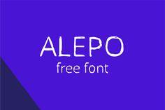 Alepo Font on Behance