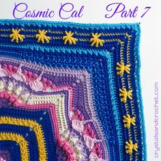 Cosmic Cal Part 7 - Crystals & Crochet