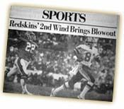 For fans of both the Denver Broncos and the Washington Redskins, watching Super Bowl XXII was like watching two separate contests. Description from thehogs.net. I searched for this on bing.com/images