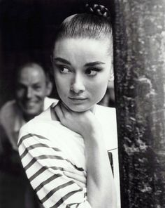 audrey hepburn in a mariniere, mariniere: original french sailor chic