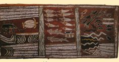 Australia - Aboriginal Bark Painting