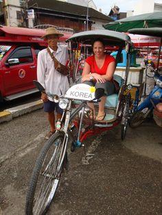 In de #tuktuk in #Thailand, een leuk ritje! #asia