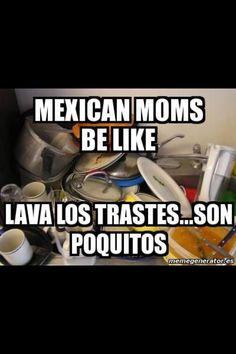 My Momsssss !! Y me trais las Chanclas!!