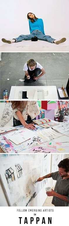 Emerging artists that you should know about. Tappan is an online platform for discovering and collecting original work and limited edition prints by emerging artists. Whether you're building an art collection or working on your interior decor, support growing artists' careers with Tappan.