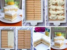 Jednoduchá rychlá sladká dobrota bez pečení No Bake Cookies, No Bake Cake, No Bake Cheesecake, No Bake Desserts, Tiramisu, Waffles, Cereal, Good Food, Cooking Recipes