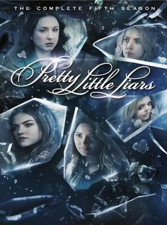 #PrettyLittleLiars Season 5 DVD Cover Front and Back 1/2.