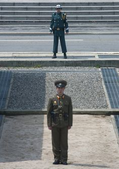 "I was on the DMZ ""korean demilitarized zone"" on the north side,in North Korea, few days ago. For the first time, i saw some south koreans soldiers on the other side, and some US ones. The north koreans told us that it was because of high tension. For Detail ""du lich han quoc"",   http://dulichsenvang.vn/du-lich-nuoc-ngoai/du-lich-han-quoc/"