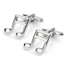 Hit the right notes with these delightfully fun yet classy cuff links.