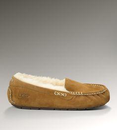 Ansley Ugg slipper in Chestnut