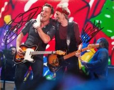Bruce Springsteen and Keith Richards