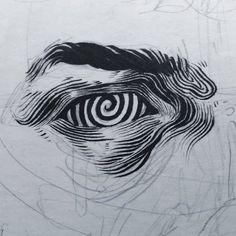 trendy ideas for eye artwork trippy - Art World Drawing Sketches, Art Drawings, Drawing Ideas, Disney Drawings, Pencil Drawings, Drawing Tips, Tattoo Sketches, Cool Drawing Designs, Drawing Reference