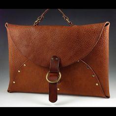 Jon Ladd-Envelope Briefcase(Handcraft)  #buckheadartsfestival2014
