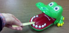 crocodile dentist. great for teaching placement! - Re-pinned by #PediaStaff. Visit http://ht.ly/63sNt for all our pediatric therapy pins