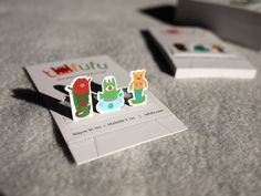 We designed a playful pop-up business card that can be folded and converted into a miniature toy shelf, featuring three Tofufu-exclusive toy characters. Therefore, our business card becomes our micro portfolio too! : )