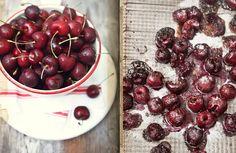<3 cherries. Katie Quinn Davies, photographer. #photography #food #styling