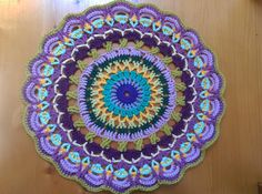 Handmade Crochet Mandala by millicrea on Etsy