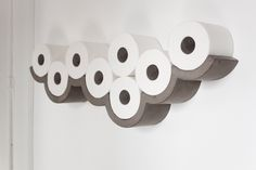 Toilet Paper Shelf by Bertrand Jayr