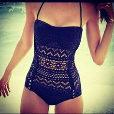 Vintage swimsuit. Loving this!