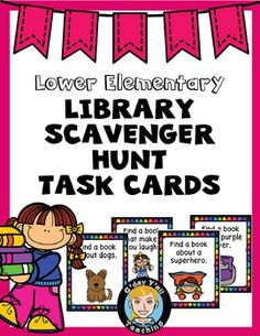 A classroom or school library hunt. This will expose students they may not look at otherwise.