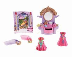 Fisher-Price Loving Family Hidden Room - Dress Up by Fisher-Price. $10.99. Special dresser houses many accessory pieces. Imagine the life of a fairy or royal princess. A new room for the Loving Family Dream Dollhouse. Collect all the Loving Family Room sets. Includes 2 dresses, butterfly wings, a crown with veil, a tiara, and tethered hairdryer and hairbrush. From the Manufacturer                Every little girl deserves a special space to call her own, like the Loving Fa...