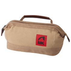 21772ef7c015 Mountain Khakis Overnight Kit is 100% cotton with wide-jaw zippered main  compartment and