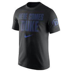 Duke Blue Devils Nike Basketball 2 Hit Performance T-Shirt – Black b2bfec0b0