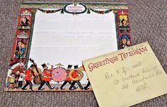Vintage 1956 GPO Greetings Telegram & Envelope - Fritz Wegner Ephemera, Illustrators, Envelope, Amp, Vintage, Decor, Envelopes, Decoration, Illustrator