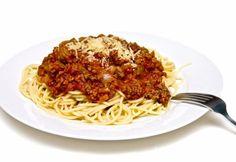 Mleté bravčové mäso so špagetami