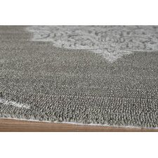 Veranda Hand-Hooked Grey Indoor/Outdoor Area Rug