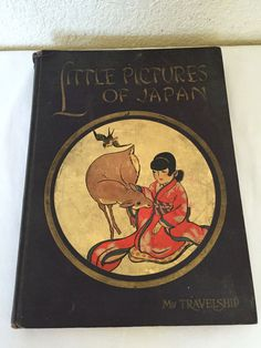 Little Pictures of Japan My Travelship HC 1925 Sturges Illustrated Childrens HC