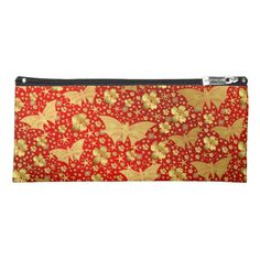 butterfly butterflies colorful shiny sparkling pencil case Custom Office Retirement #office #retirement