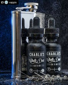 The most fresh. Good looks @vappix For the sick shots of our coils with #Charlieschalkdust @charlieschalkdust by @Vappix  #TheVappixProject  #vappix #vappixstyle #ejuice #vapeporn #juiceporn #flask #coilporn #juiceporn