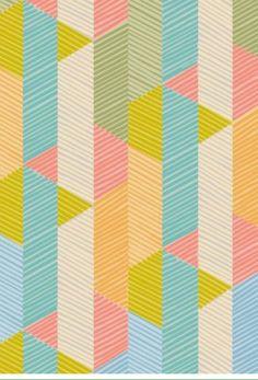 Allegro Multicolour Fabric By Imogen Heath