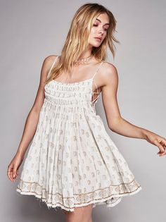 FP One Imperial Pintuck Dress at Free People Clothing Boutique
