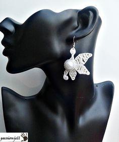 Soutache Butterfly Earrings