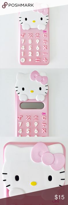 Hello Kitty Calculator NWOT. Battery included. Hello Kitty Accessories