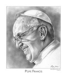 Pope Francis by gregchapin.deviantart.com on @deviantART