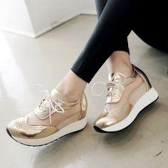 bb91f90484 Compra Mujer Sandalias Zapatos De Plataforma Tailun-Cool -Dorado online