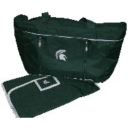 Michigan State Diaper Bag...So the husband can carry it :-)