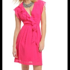 Hp Nanette Lepore Pink Lollipop Dress