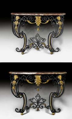 Iron Console Table, Iron Table, Iron Furniture, Rustic Furniture, Diy Stool, Consoles, Welding Table, Iron Decor, Swinging Chair