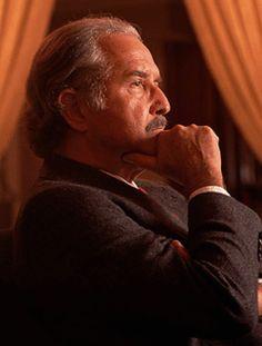 """Carlos Fuentes  November 11, 1928 -  May 15, 2012  """"La muerte espera al más valiente, al más rico, al más bello. Pero los iguala al más cobarde, al más pobre, al más feo, no en el simple hecho de morir, ni siquiera en la conciencia de la muerte, sino en la ignorancia de la muerte. Sabemos que un día vendrá, pero nunca sabemos lo que es.""""   ― Carlos Fuentes"""