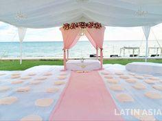 #tent #sikhwedding #garden #destinationweddingscancun #destinationweddingsrivieramaya by @weddingcancun