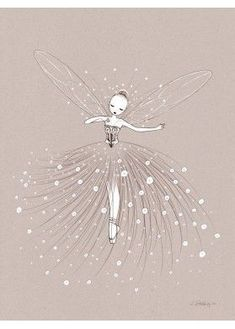 Fairy Dance by Cathy Delanssay | Ilustraciones