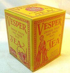 vesper orange pekoe tea