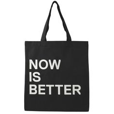 Sagmeister & Walsh Now is Better Tote