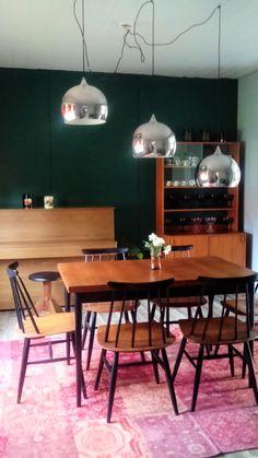 My dinner room with Tapiovaara chairs.