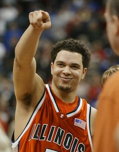 deron williams in the illinois years.  my heart will always belong to him<3