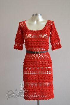 Vestido Anette - Encomendas: feiticeiradasagulhas@gmail.com